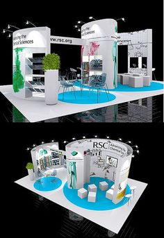 Exhibition Stand Design - from Quadrant2Design.Com