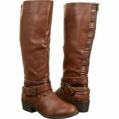 PINK AND PEPPER Robbin Riding Boot Boots (Cognac) - Women's Boots