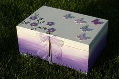 MAXI truhla ROMANTIKA II Decorative Boxes, Projects, Kids, Painting, Home Decor, Children, Blue Prints, Boys, Decoration Home