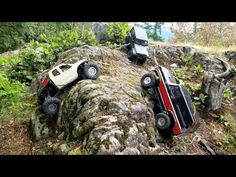 Rubicon / Traxxas Bronco / Vaterra Ascender Group Trailing plus winch Action. Jeep Rubicon, Remote, Action, Group, Group Action