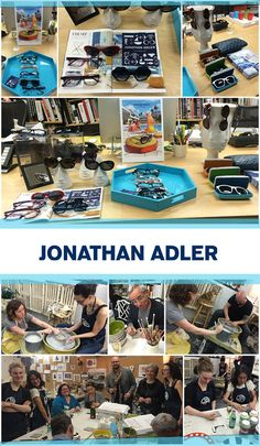 'Throwing Pot' to Celebrate Jonathan Adler Eyewear: http://eyecessorizeblog.com/2015/03/throwing-pot-celebrate-jonathan-adler-frames/