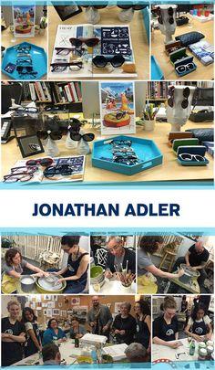 'Throwing Pot' to Celebrate Jonathan Adler Eyewear: http://eyecessorizeblog.com/2015/03/throwing-pot-celebrate-jonathan-adler-frames/