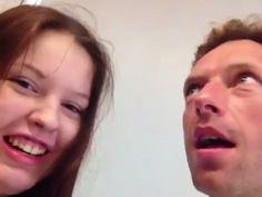 Carlota sube a sus redes sociales un video cantantando con el vocalista de Coldplay