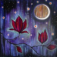 """Night Blossom"" by Shanti I.Kassebom"