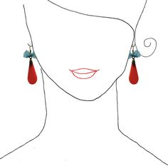 *FREE SHIPPING*  ------------------------  Here you find original earrings *made exclusively by hand from methacrylate* that make life more beatifu...
