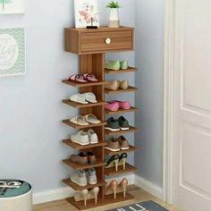 25 Simple but Clever DIY Shoe Storage Ideas DIY Wood Pallet wood shoe rack Diy Wood Pallet, Wooden Pallets, Wooden Diy, Rack Design, Storage Design, Diy Storage, Storage Ideas, Shoe Storage Pallet, Pallet Shelves