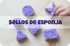 Sellos de esponja Lavaplatos http://viriencasa.com/2014/05/21/sellos-de-esponja-lavaplatos/