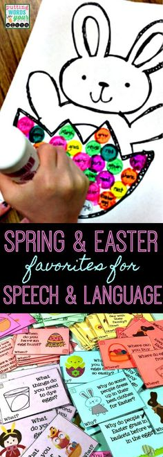 Spring & Easter Favorites for Therapy