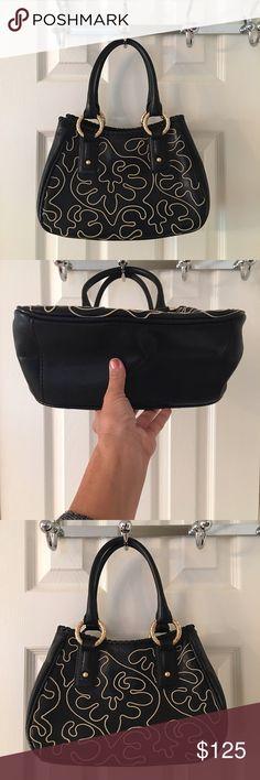 🛍 Antonio Melani Black Cream Leather Tote Bag Mass posting.  Will add description shortly. ANTONIO MELANI Bags Totes