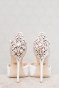 Stylish wedding shoes; Photo: Blush Wedding Photography