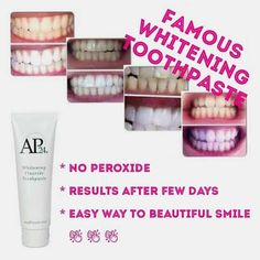 """Amazing """"magic"""" toothpaste!  Get whiter teeth today!"""