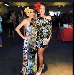 ,.,. Ethnic Fashion, African Fashion, Luau Costume, Samoan Dress, Samoan Designs, Island Wear, Hawaii Dress, Tropical Dress, Different Dresses