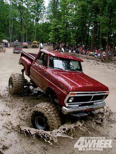 1979 Ford F-150 mud bog. :)
