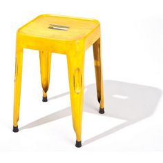 Set of 4 Melange Chairs in Yellow - Casafina