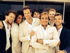 The Troubadours with Lianne Havas - The Troubadours Riviera - Sam, Jason, Adrian, Cae