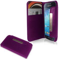 Samsung Galaxy S4 Mini Wallet Case - Purple at MobileFun