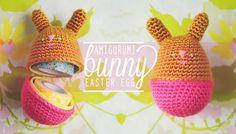 Free Crochet Pattern: Amigurumi Bunny Egg