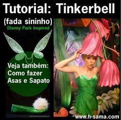 H-Sama , sei q é pedir muito para ti, mas poderia fazer um tutorial de como fazer as asas da Tinkerbell [ Fada Sininho ] .....