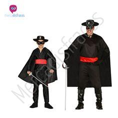 Disfraces para grupos Zorro En mercadisfraces tu tienda de disfraces online, aquí podrás comprar tus disfraces para Carnaval o cualquier fiesta temática. Para mas info contacta con nosotros http://mercadisfraces.es/disfraces-para-grupos/?p=7