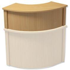 Bespoke White Modular Reception Desk Design Your Own