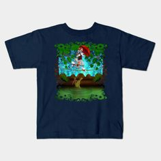 Haunted Mansion The cat, mouse and crocodile Kids T-shirt #teepublic #tee #tshirt #clothing #frameart #crocodile #alligator #hauntedmansion #haunted #cartoons #kids #cat #mouse #Tom #Jerry #TomandJerry