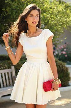 Modelo branco http://modelosdevestidos.biz/casamento-civil/