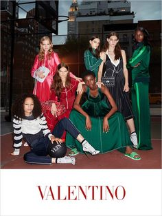 Olympic Athlete Tori Bowie   Top Models for Valentino Resort 2018