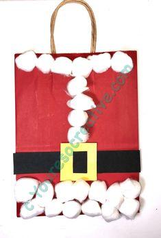 Santa Suit Gift Bag