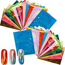Shopping Cart Tape Nail Art, Nail Art Kit, Glitter Nail Art, Pedicure Nails, Manicure, Fire Nails, Nail Brushes, Brush Kit, Powder Nails