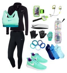 """""""SPORT"""" by who-is-that-chick on Polyvore featuring NIKE, Zodaca, Casall, Beats by Dr. Dre, Victoria's Secret, L. Erickson, Nordstrom Rack, women's clothing, women's fashion and women"""
