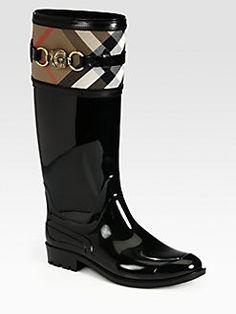 Burberry - Rain Boot...not a purse but LOVE!