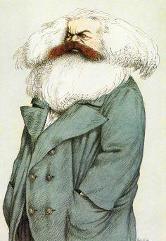 Tullio Pericoli Karl Marx