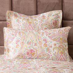 Paisley Print Pillow Case