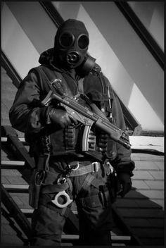 British SAS - the grandfathers of black ops.