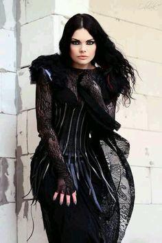 Goth Gothic Repinned by www.fashion.net