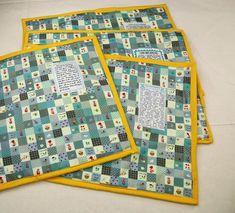 Tischsets nähen Sewing Tutorials, Frugal, Quilts, Diy, Crafts, Landscape, Sewing Patterns Free, Sew Mama Sew, Tutorials