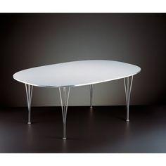 Fritz Hansen B613 tafel 180x120. Een schitterende #eettafel van @fritzhansen #tafels #design #Flinders