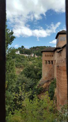 The General's Garden taken from The Alhambra in Granada, Spain  (Sept 2016)
