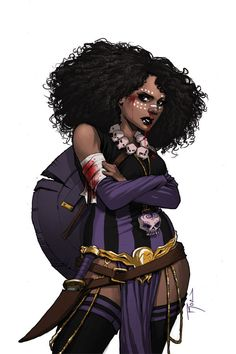 Rat Queens - I havent read more than 5 pages of the forst issue but I love Dee's look!