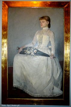 Olga Boznańska Miejsce: Muzeum Narodowe w Krakowie #art #kraków #culture