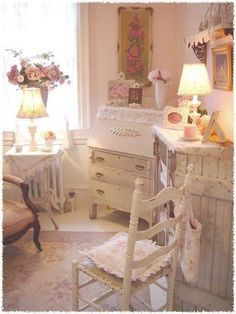Shabby chic bedroom in an array of color - http://ideasforho.me/shabby-chic-bedroom-in-an-array-of-color-3/ -  #home decor #design #home decor ideas #living room #bedroom #kitchen #bathroom #interior ideas