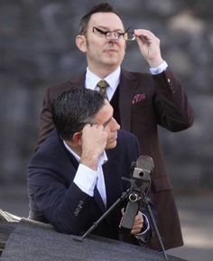 Michael Emerson & Jim Caviezel