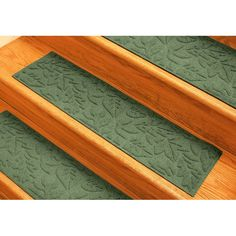 You'll love the Aqua Shield Light Green Fall Day Stair Tread at Wayfair - Great Deals on all Rugs products with Free Shipping on most stuff, even the big stuff.