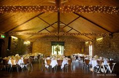 Fairy lights and Winery Room @ Chateau Dore Winery