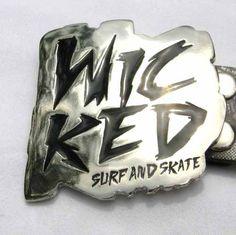 (1) Correa / Cinturon Wicked 100% Original 127 Cm Talla L - BsF 800,00 en MercadoLibre