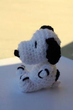 Snoopy!! Gratis haakpatroontje