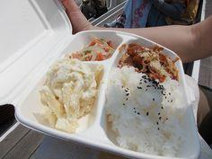Hawaiian Food ~ Plate Lunch!