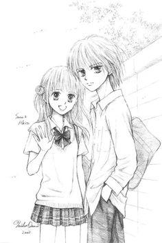 Sana e Akito liceali - kodomo no omocha