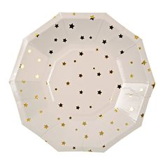 Plates | Meri Meri | Toot Sweet Gold Stars Small Party Plate | Twinkle Twinkle Little Star | Paper Plates | Party Supplies The Party Darling by ThePartyDarlingLLC on Etsy