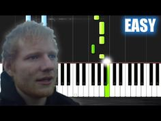 Ed Sheeran - Castle On The Hill - EASY Piano Tutorial by PlutaX - YouTube